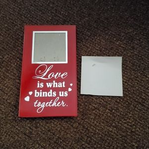 """Love Is What Binds Us Together"" Mini-Frame"